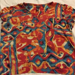 Chicos colorful top